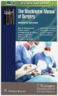 The Washington Manual of Surgery Mary Klingensmith