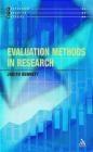 Evaluation Methods in Research Judith Bennett