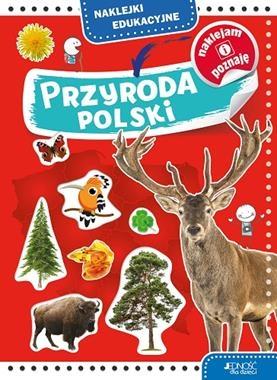 Przyroda Polski. Naklejki edukacyjne Skwark Dorota