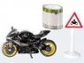Siku 16 - Zestaw motocykl + taśma (S1601)