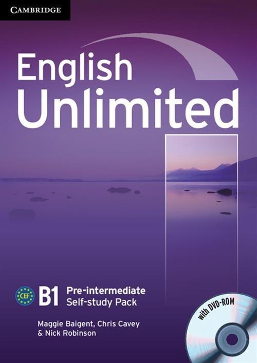 English Unlimited Pre-intermediate Self-study Pack Workbook + DVD Baigent Maggie, Cavey Chris, Robinson Nick