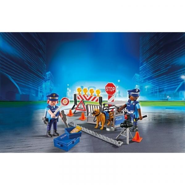Playmobil City Action: Blokada policyjna (6878)