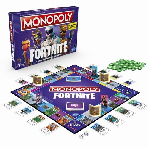 Monopoly Fortnite (E6603). Wiek: 13+