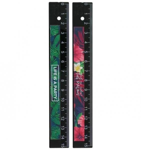 Linijka 15 cm Tropical KUM