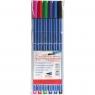 Cienkopisy Top Quality Fineliner, 6 kolorów (174235)