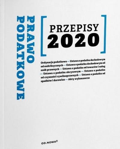 Prawo Podatkowe Przepisy 2020 Anna Prus