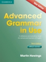 Advanced Grammar in Use without Answers Hewings Martin