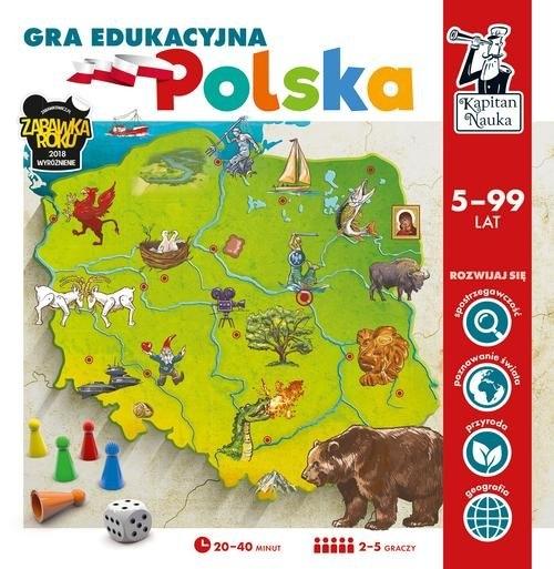 Kapitan Nauka. Gra edukacyjna - Polska
