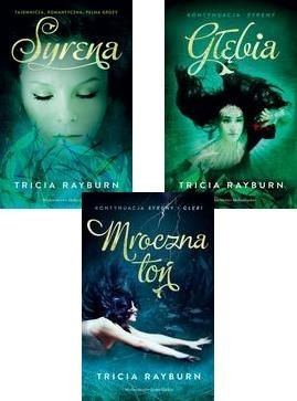 Pakiet 3 książek Syreny Rayburn Tricia