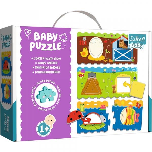 Puzzle Baby Classic: Sorter kształtów (36078)