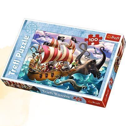 Puzzle Bitwa na morzu. 100 elementów (16278)