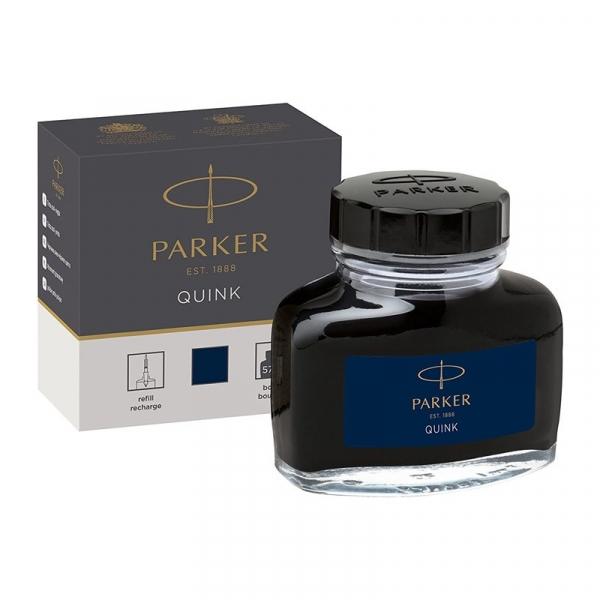 Atrament do pióra Parker 57 ml - niebiesko-czarny (1950378)