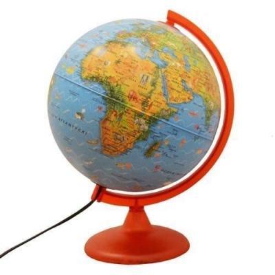 Zoo Globe globus podświetlany 25 cm