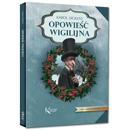 Opowieść wigilijna (Uszkodzona okładka) Karol Dickens
