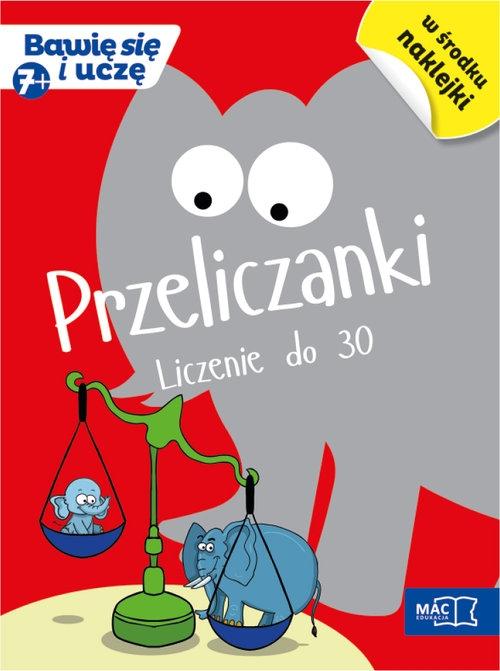 Przeliczanki 7+ Liczenie do 30 Bankiewicz Roman, Pustuła Andrzej