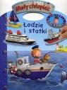 Mały chłopiec Łodzie i statki Naklejki Duża plansza