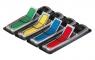Zakładki indeksujące POST-IT PP 12x43mm strzałka 4x24 kartki mix kolorów (684-ARR3)