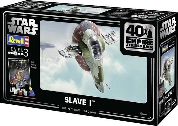 Model do sklejania Star Wars Gift Set Slave I (05678)