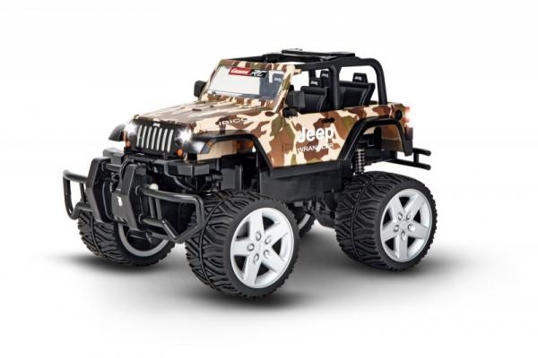 Auto Jeep Wrangler Rubicon camo 2,4GH (370162122)