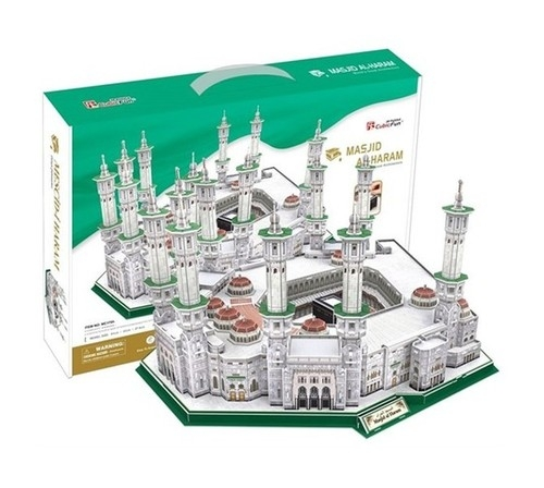 Puzzle 3D Meczet Masjid Al-Haram 249 (MC178H)