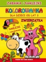 Kolorowanka dla dzieci od lat 3 Zwierzątka