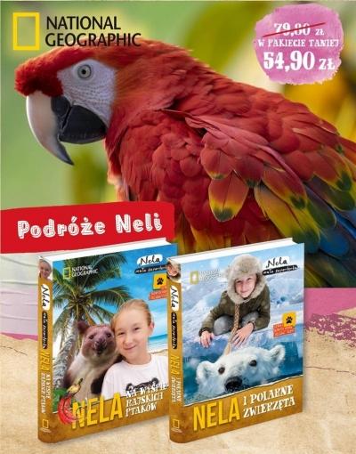 Pakiet 4: Nela i polarne zwierzęta/Nela na wyspie rajskich ptaków Nela Mała Reporterka