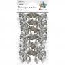Dekoracje materiałowe kokardy srebrne (414433)