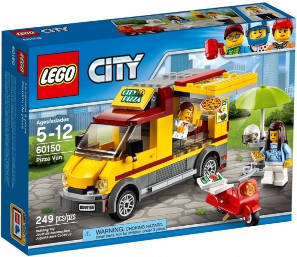 Lego City: Foodtruck z pizzą (60150)