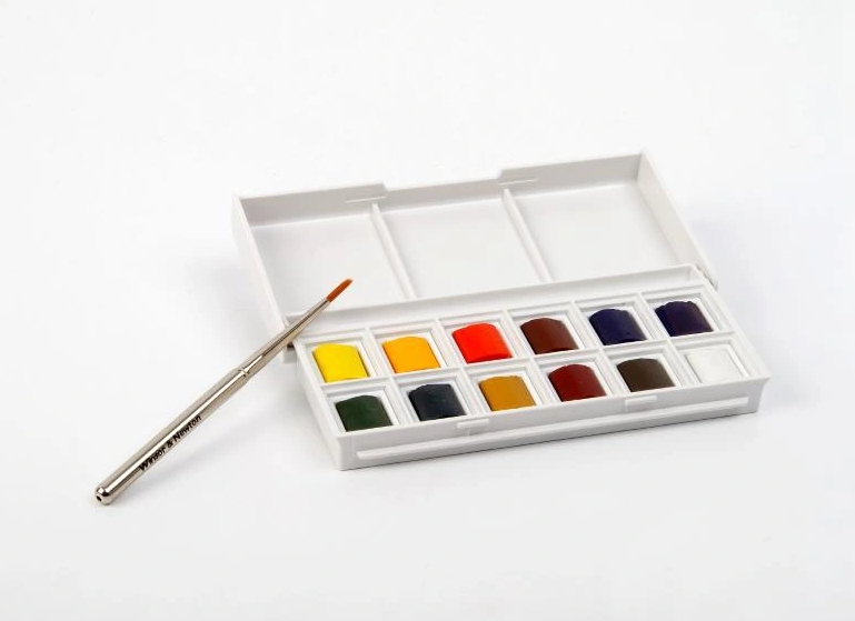 Zestaw farb akwarelowych