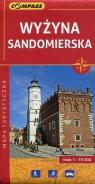Wyżyna Sandomierska mapa turystyczna 1:75 000