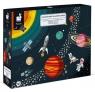Puzzle edukacyjne - Układ słoneczny, 100 elementów (J02678)