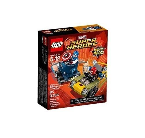 Lego Super Heroes Kapitan Ameryka kontra Red Skull (76065)