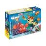 Puzzle Dwustronne 2w1 Nemo + mazaki (304-40728)