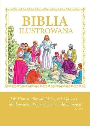 Biblia ilustrowana - Jezus z Apostolami praca zbiorowa