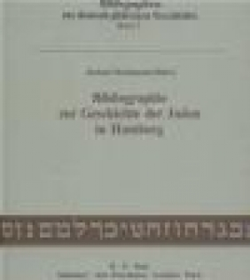 Biblio. zur Geschichte der Juden in Hamburg