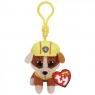 Maskotka brelok Beanie Babies: Psi Patrol - Rubble 8,5 cm (41278)