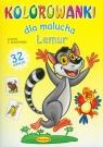 Lemur Kolorowanki dla malucha