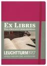 Dziennik czytelniczy Leuchtturm1917 Ex libris różowy wersja niemiecka