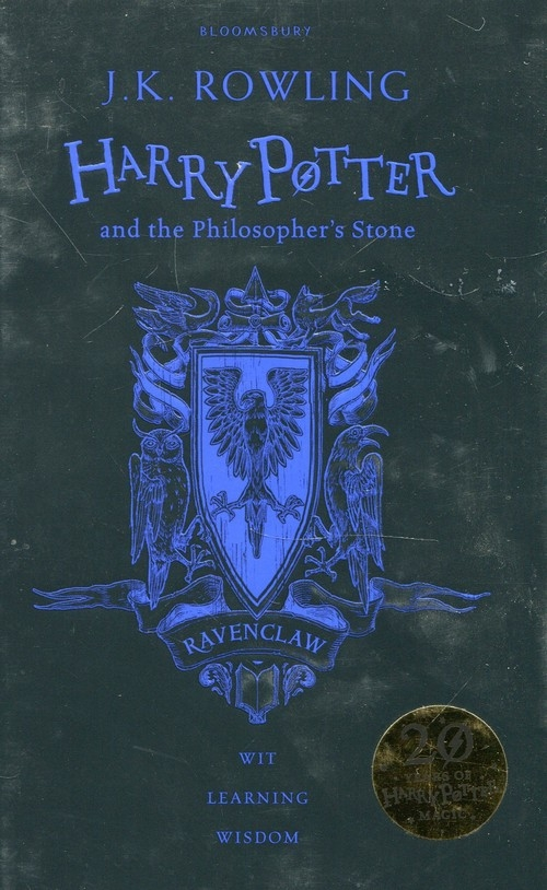 Harry Potter and the Philosopher`s Stone. Ravenclaw Rowling J.K.