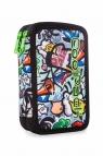 Coolpack - Jumper 2 - Piórnik podwójny z wyposażeniem - Led Graffiti (A66201)