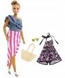 Barbie Fashionistas. Lalka z ubrankami 3