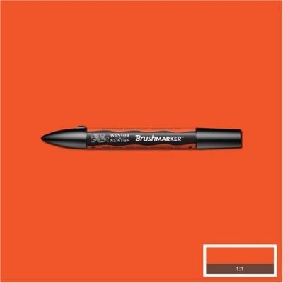 BrushMarker Winsor&Newton bright orange (204051)