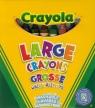 Kredki świecowe Crayola zmywalne 8 sztuk (0878)