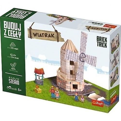 Buduj z cegły Wiatrak L (60878)