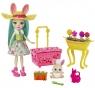 Enchantimals: Wiosenny króliczek Mop + lalka Fluffy Bunny (GJX32/GJX33)