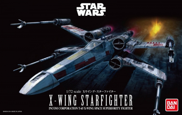 Model plastikowy Star Wars X-WING Starfighter (01200)