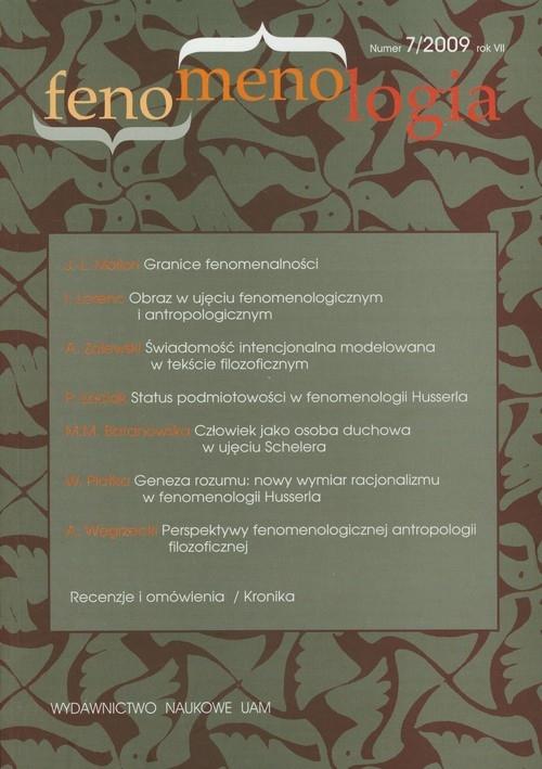 Fenomenologia nr 7/2009