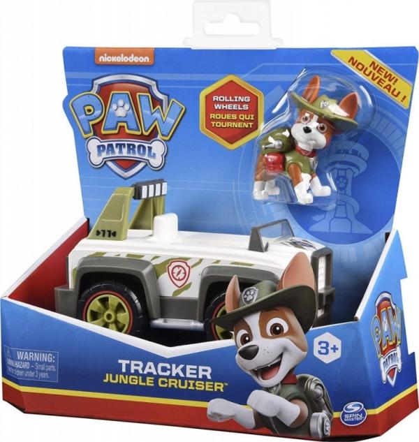 Psi Patrol Pojazd z figurką Tracker (6052310/20124642)