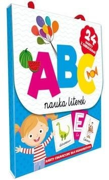 ABC Nauka literek. Karty edu. dla najmlodszych praca zbiorowa