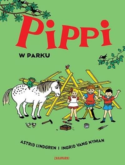 Pippi w parku Lindgren Astrid